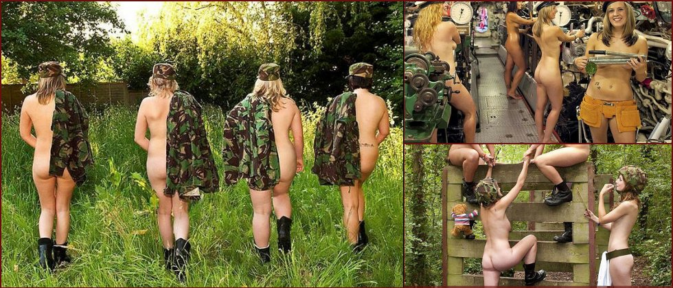The wives of British soldiers were photographed naked for a calendar - 18