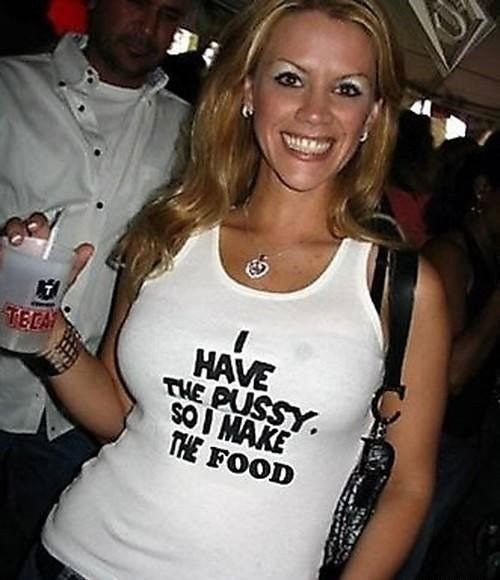 Girls in funny t-shirts - 06