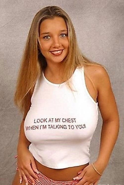 Girls in funny t-shirts - 15
