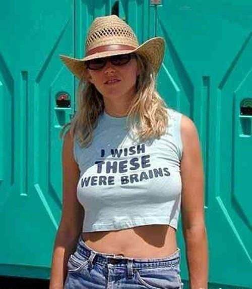 Girls in funny t-shirts - 19
