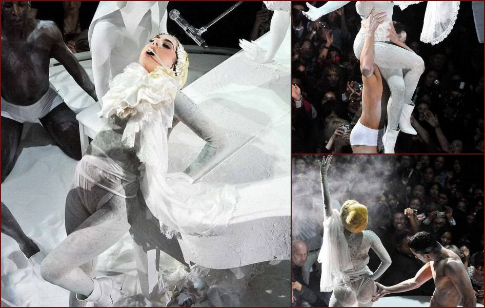 Lady GaGa's ass at a concert in Tokyo - 21