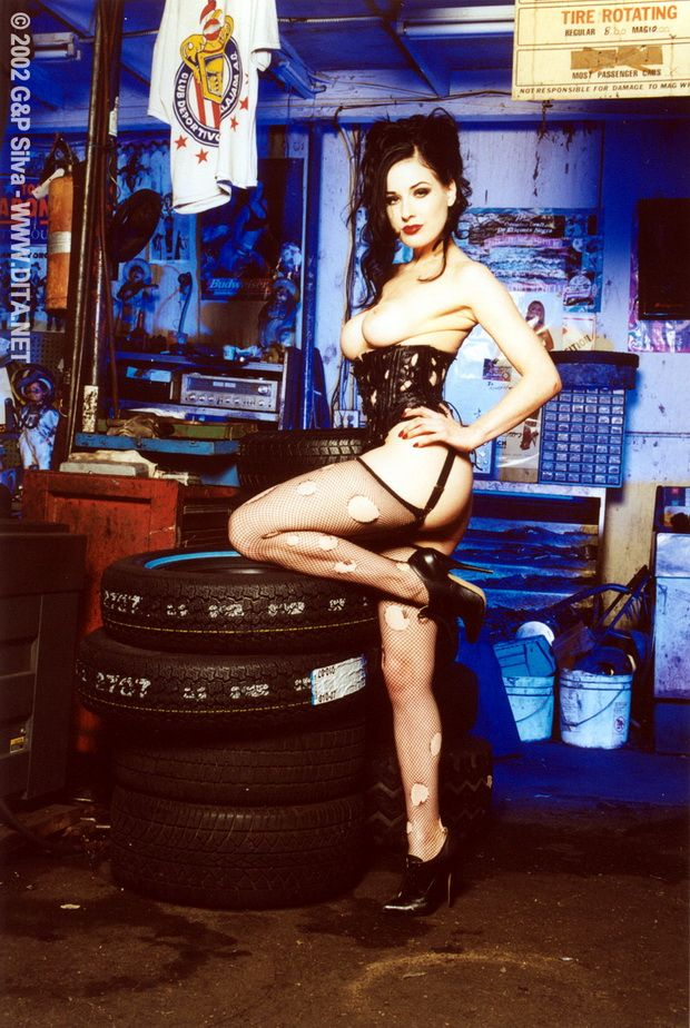 Big collection of erotic photos of burlesque queen Dita von Teese - 04