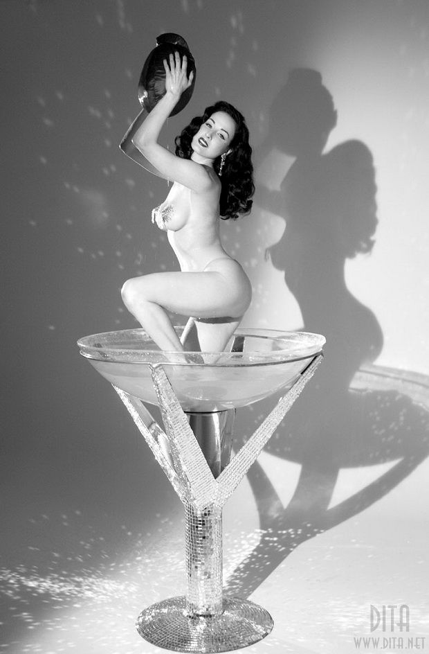 Big collection of erotic photos of burlesque queen Dita von Teese - 40