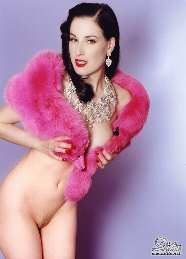 Big collection of erotic photos of burlesque queen Dita von Teese - 58