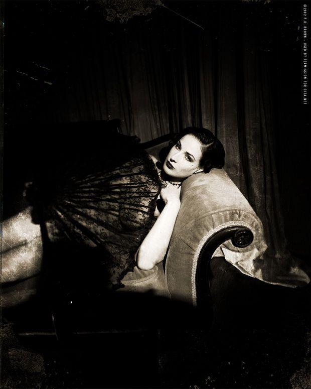 Big collection of erotic photos of burlesque queen Dita von Teese - 60