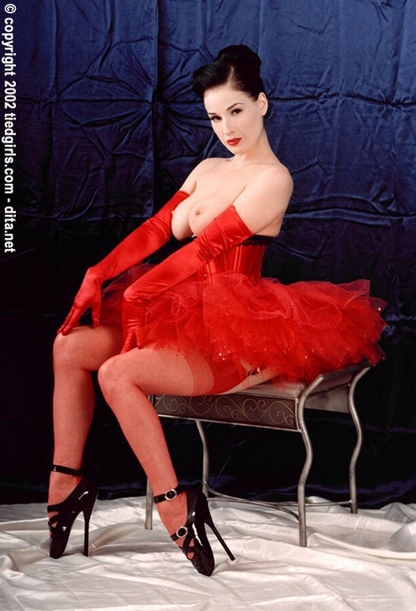Big collection of erotic photos of burlesque queen Dita von Teese - 61