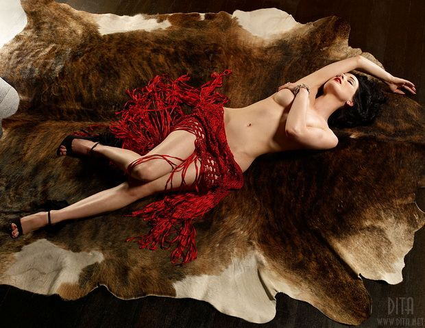 Big collection of erotic photos of burlesque queen Dita von Teese - 65