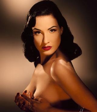 Big collection of erotic photos of burlesque queen Dita von Teese