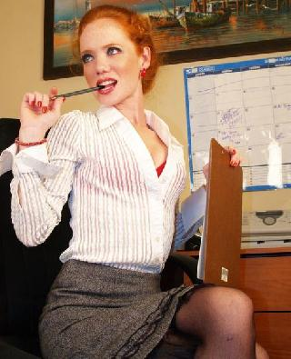 Heather will show what the perfect secretary should be