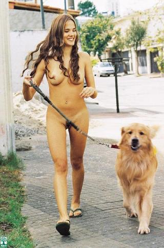 Nude dog Miley Cyrus