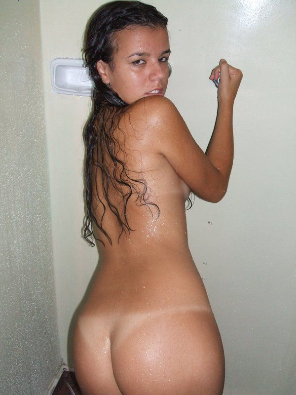 Indecent photos of a young Latina - 13