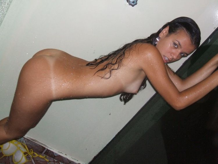 Indecent photos of a young Latina - 14