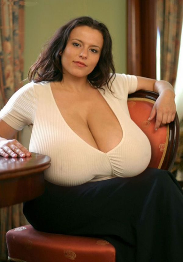 Impressive collection - girls with very large breasts - 02