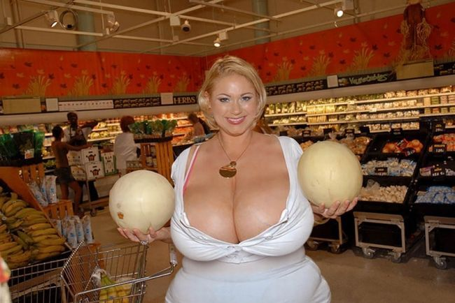 Impressive collection - girls with very large breasts - 03