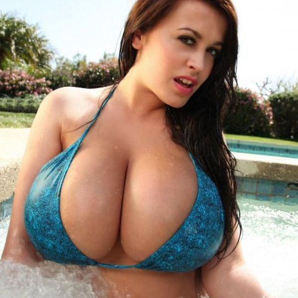 Impressive collection - girls with very large breasts - 04