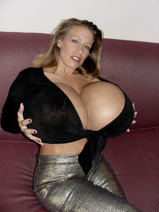 Impressive collection - girls with very large breasts - 14