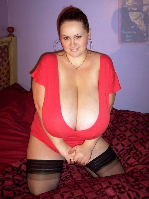 Impressive collection - girls with very large breasts - 18