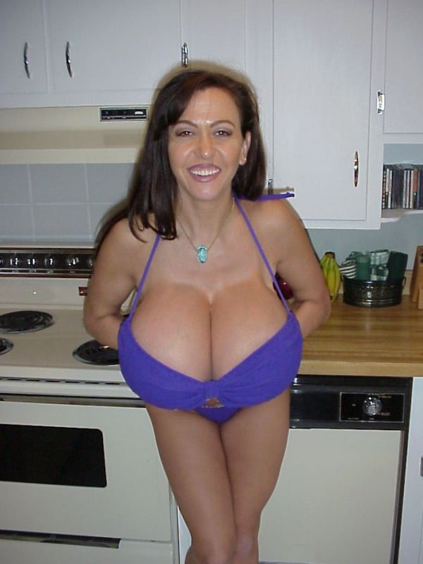 Impressive collection - girls with very large breasts - 20