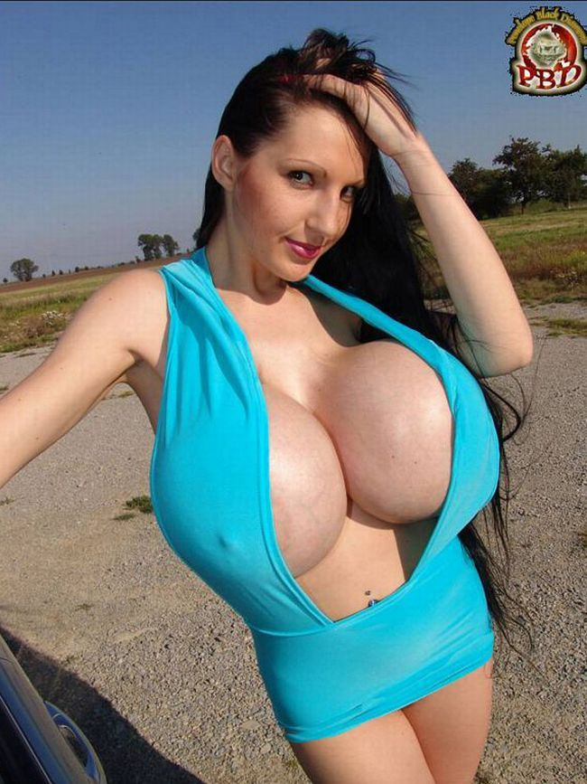 Impressive collection - girls with very large breasts - 31