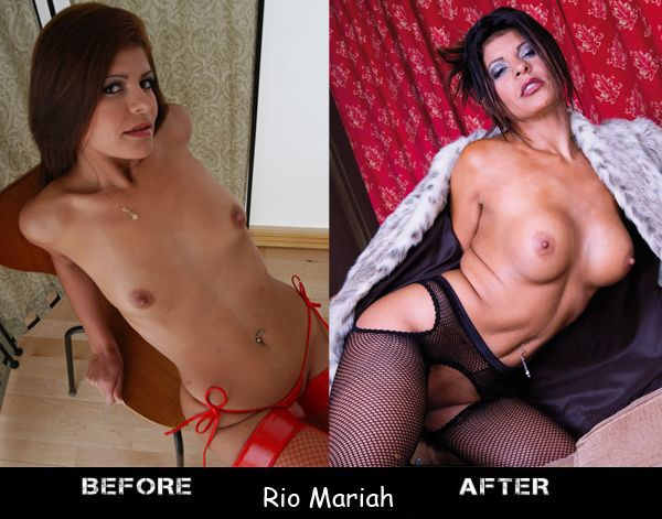 Porn stars before and after breast augmentation - 11
