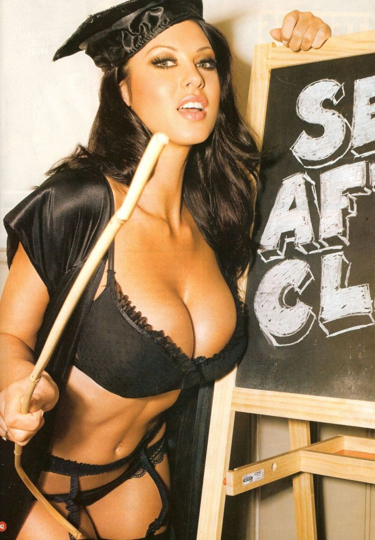 Alice Goodwin showed her boobs in the ZOO magazine again - 03