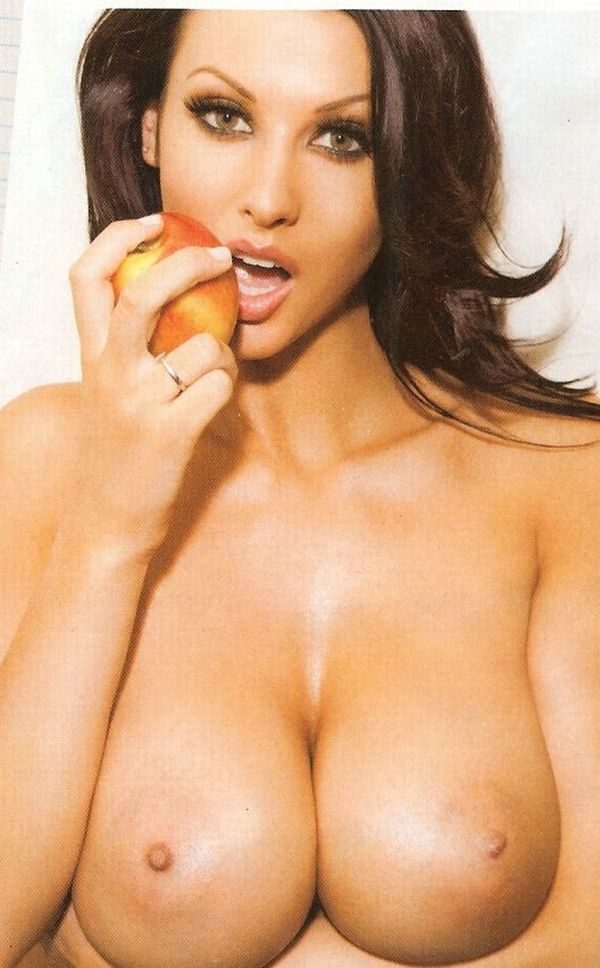 Alice Goodwin showed her boobs in the ZOO magazine again - 07