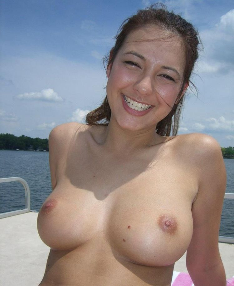 A girl with perfect breasts - 01