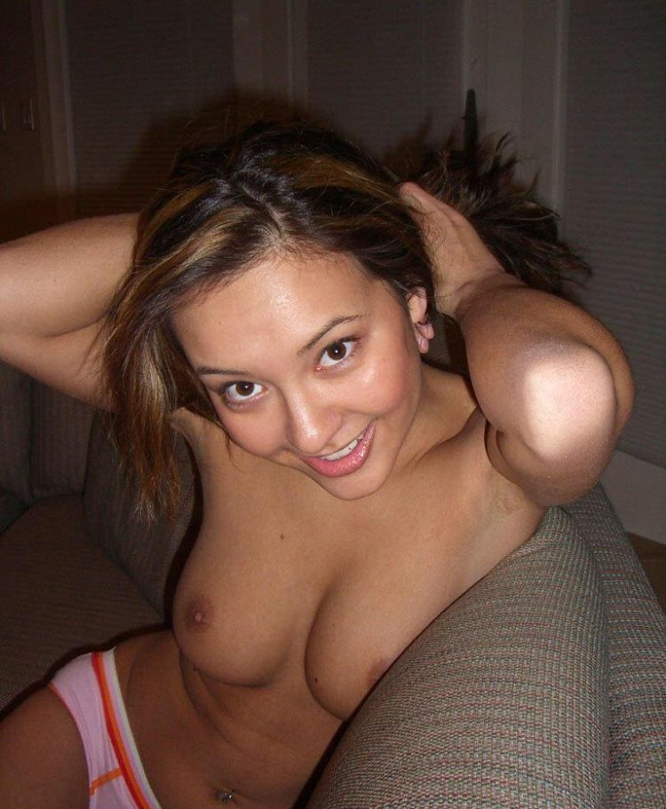 A girl with perfect breasts - 22