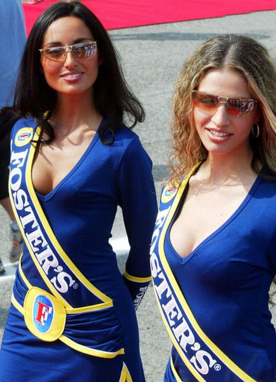 Hot girls from Formula 1 - 08