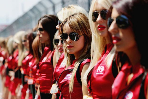 Hot girls from Formula 1 - 14