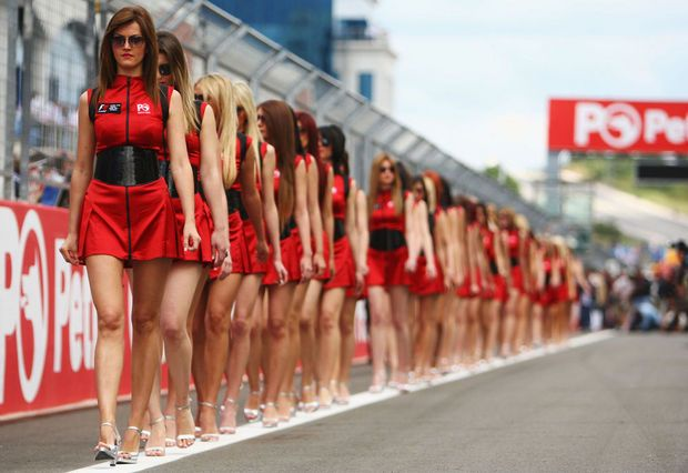 Hot girls from Formula 1 - 28