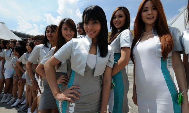 Hot girls from Formula 1 - 44