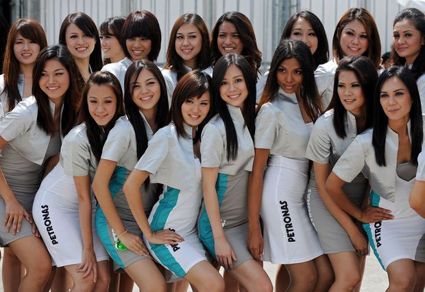 Hot girls from Formula 1 - 45