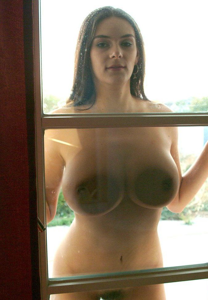 Apologise, Big tits pressed against glass accept. opinion