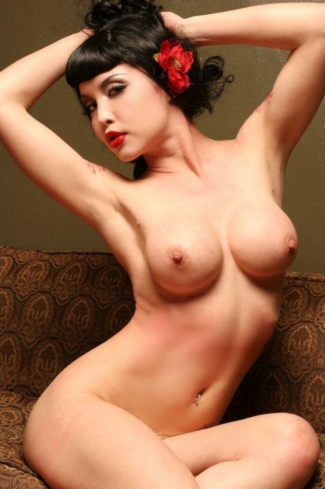 Tattooed brunette Masuimi Max - 13