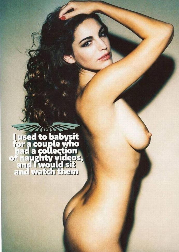 Kelly Brook topless in Loaded magazine - 04
