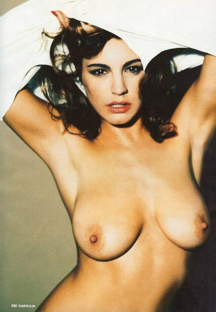 Kelly Brook topless in Loaded magazine - 05