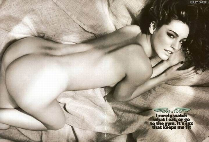Kelly Brook topless in Loaded magazine - 06