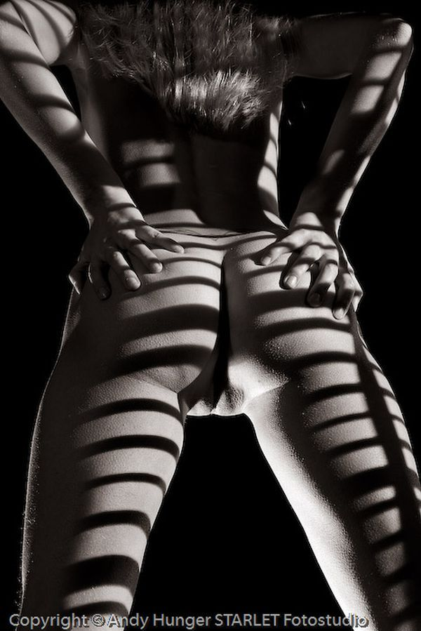 Black and white erotica of photographer Andy Hunger - 01