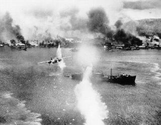 Photos of WWII in the Pacific