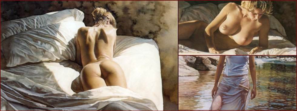 Perfect nudity in seductive pictures from Steve Hanks - 17