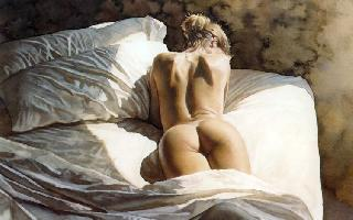 Perfect nudity in seductive pictures from Steve Hanks