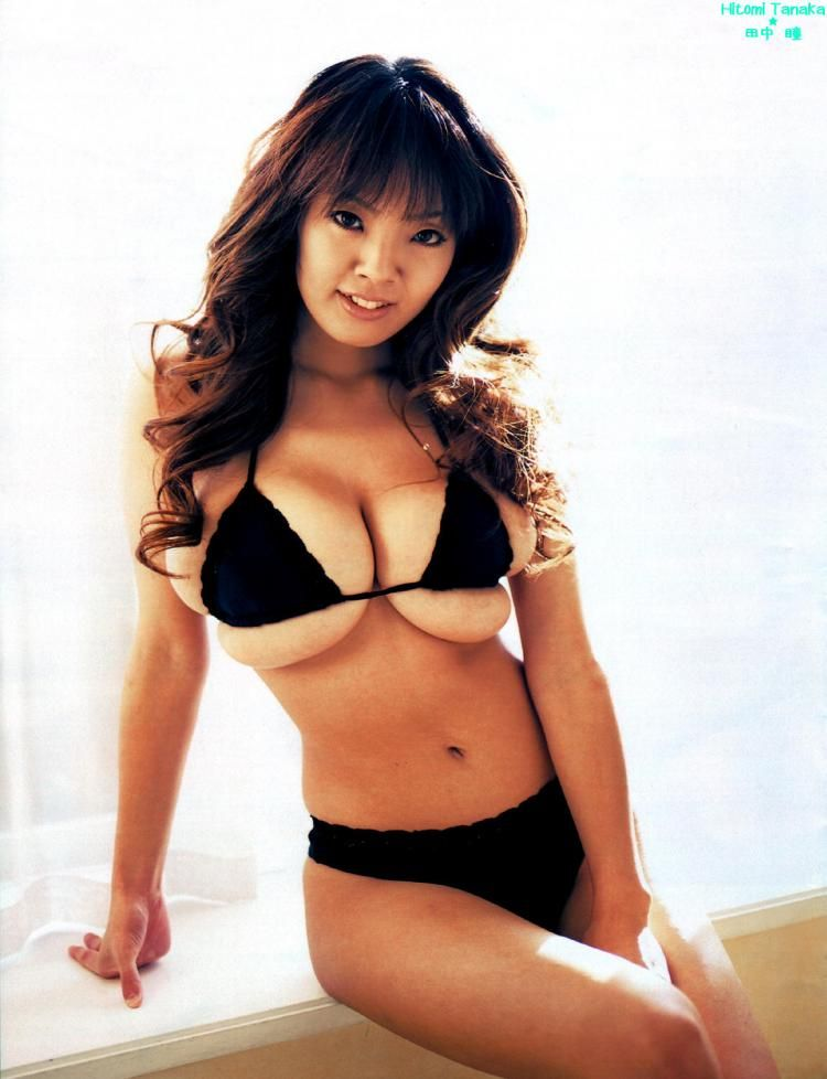 Hitomi Tanaka, the owner of mega breasts - 13