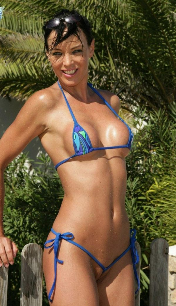 Micro-bikinis, it'd be great if every girl wore such a swimming suit - 07