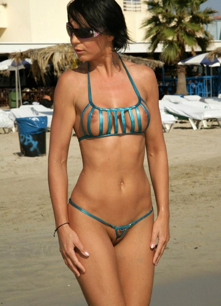 Micro-bikinis, it'd be great if every girl wore such a swimming suit - 29