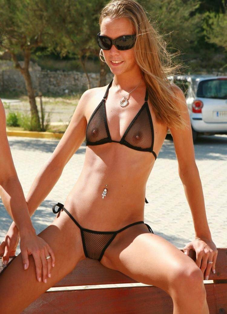 Micro-bikinis, it'd be great if every girl wore such a swimming suit - 30