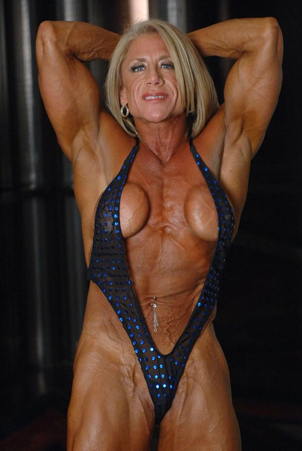 Fit muscle girl porn