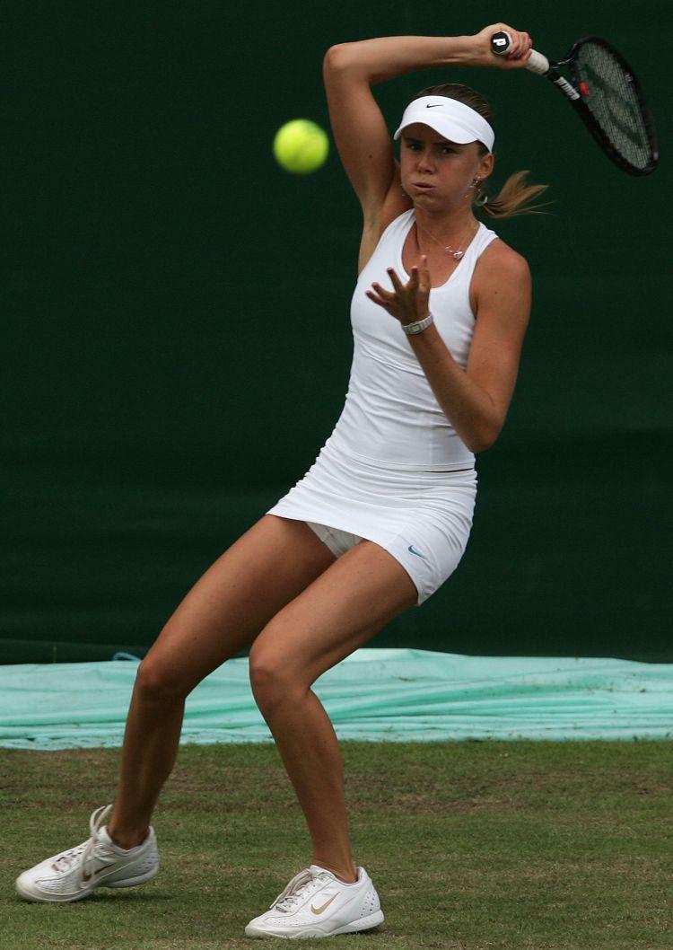 sexy amateur tennis skirt