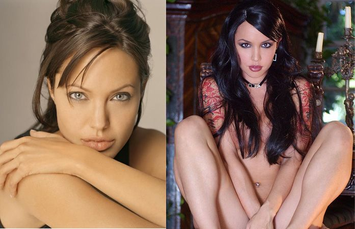 Porn stars and celebrities that look alike - 09