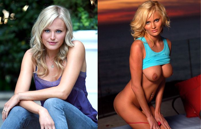 Porn stars and celebrities that look alike - 10